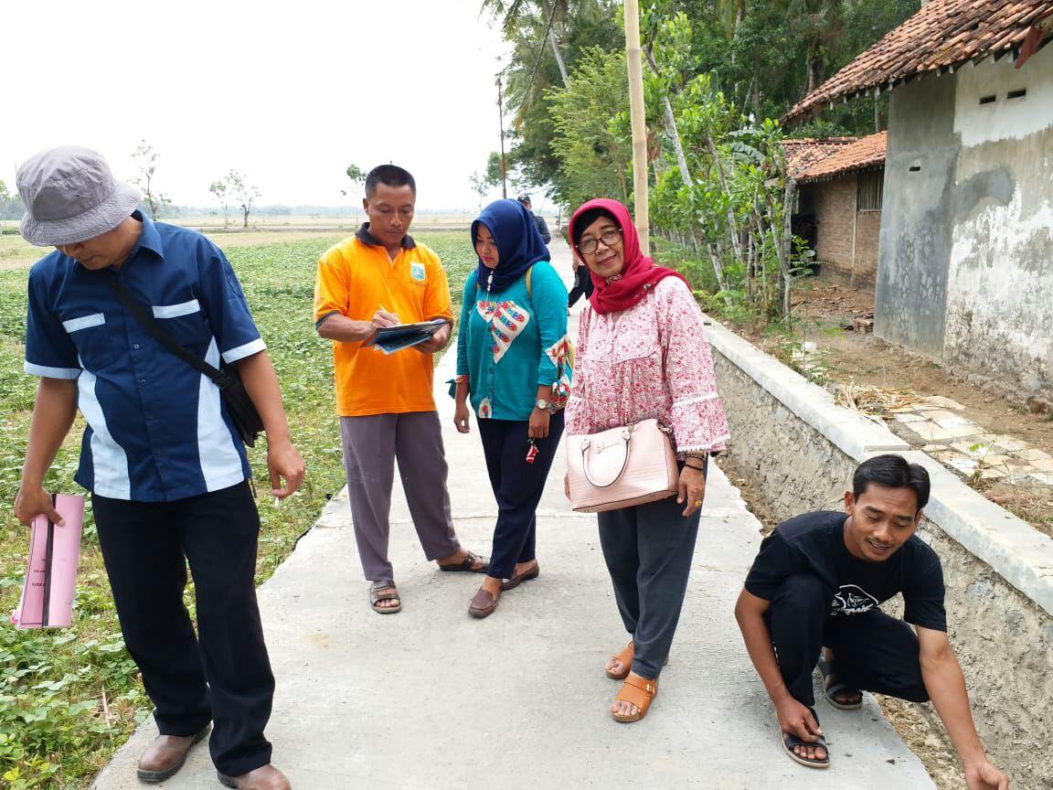 Kegiatan Sertifikasi Anggaran Dana Desa 2018 di Desa Klirong Kebumen Untuk Kegitan Pembangunan Jalan Desa