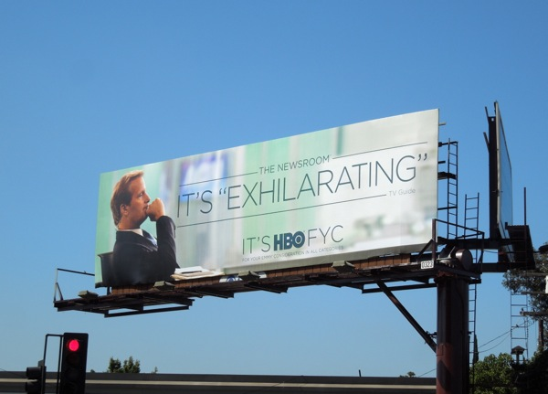 Newsroom season1 Exhilarating Emmy billboard