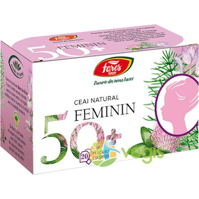 Cumpara aici acest ceai 50 plus Feminin