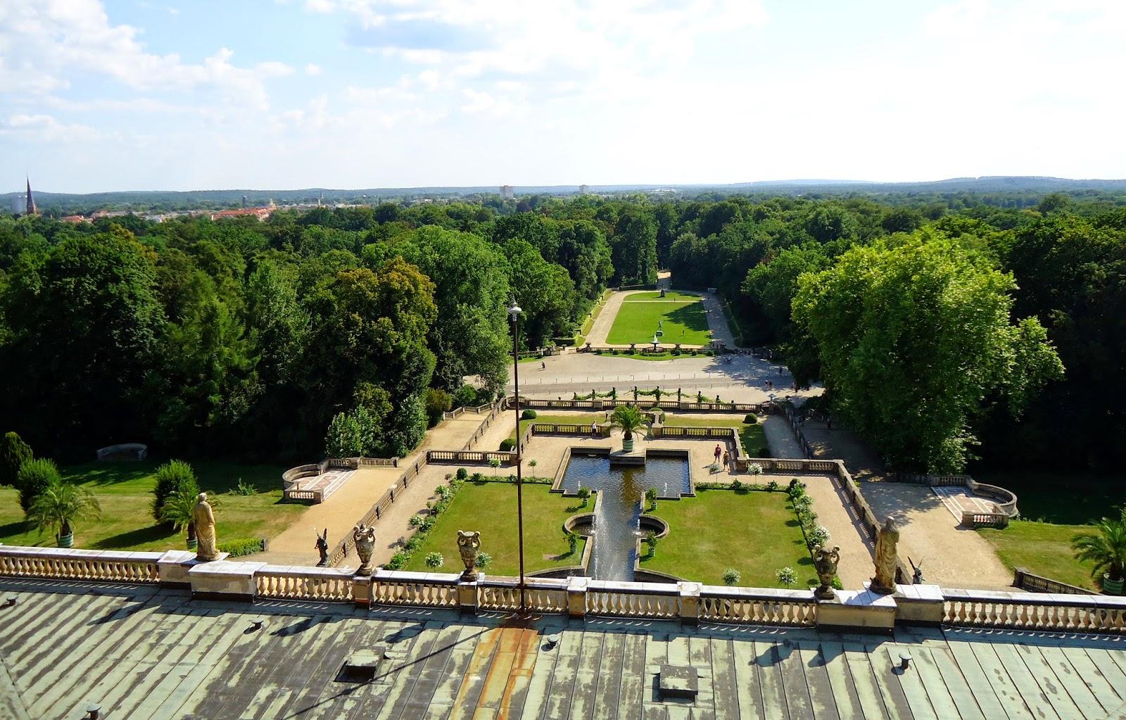 Ausblick Orangerie