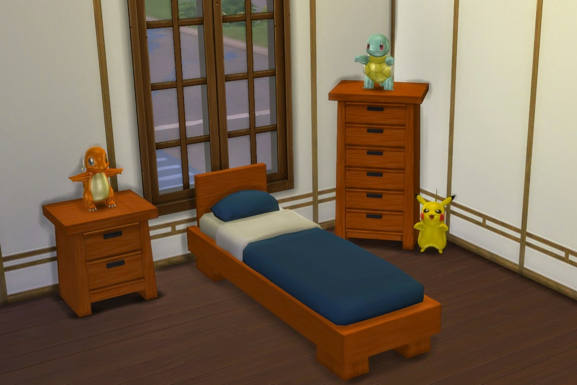 My Sims 4 Blog: Modern Asian Bedroom Set By Lexiconluthor