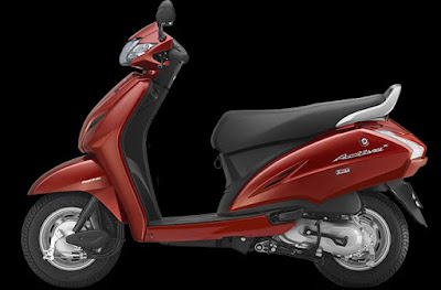 Honda Activa 3G scooter side view image HD