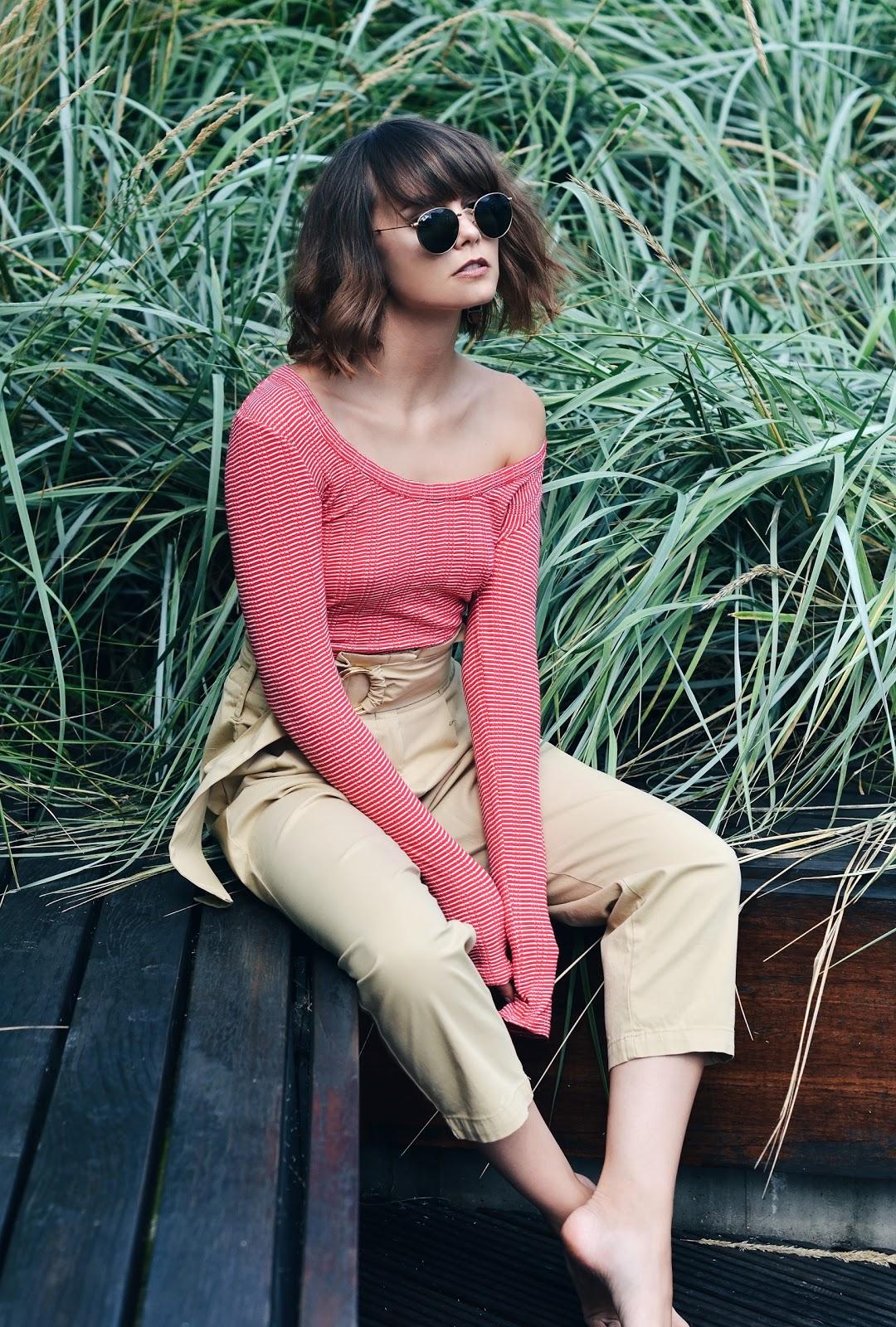 okulary ray ban |spodnie zara