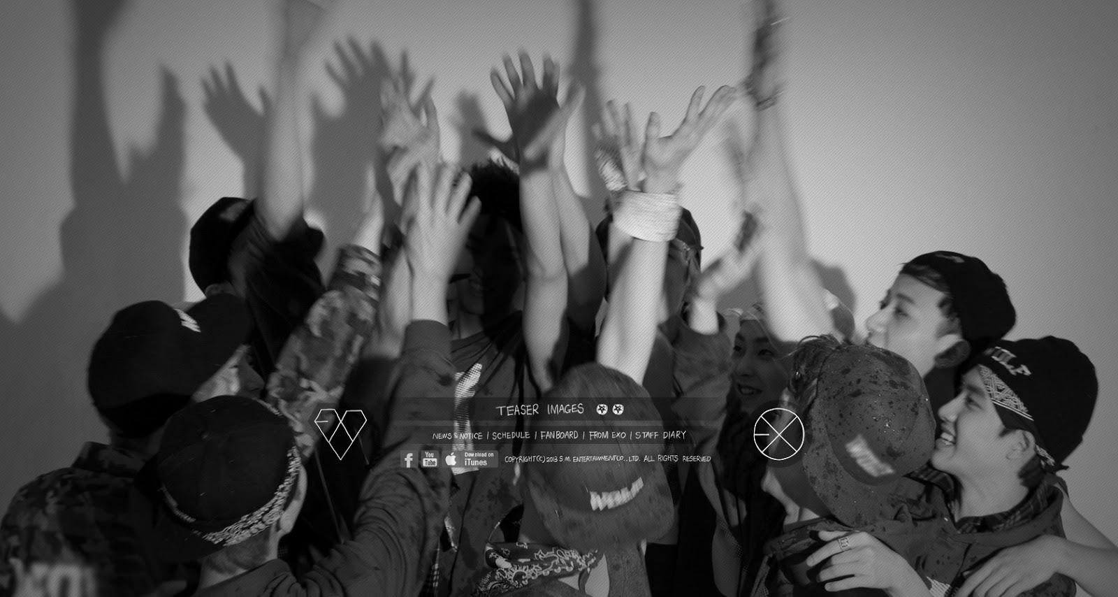 Dhictator Blogs EXO Comeback Kiss Hug Teaser