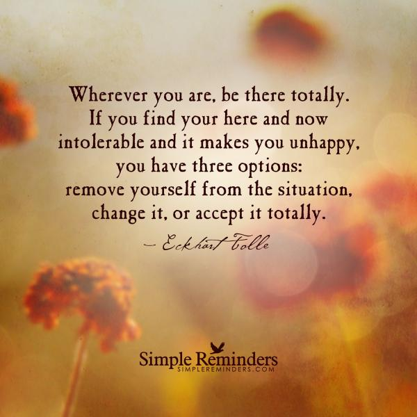 I Am Healed Eckhart Tolle Change Your Life There S Only