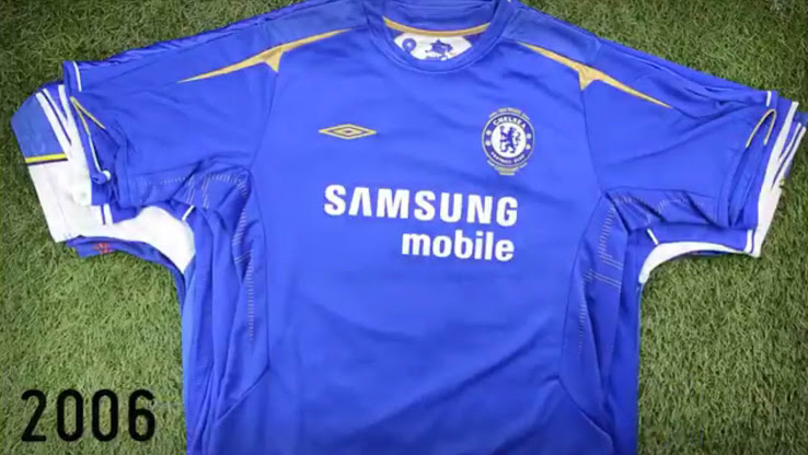 brand new 2fff7 eeb80 Hello Nike - Here Are All Chelsea Premier League Home Kits ...