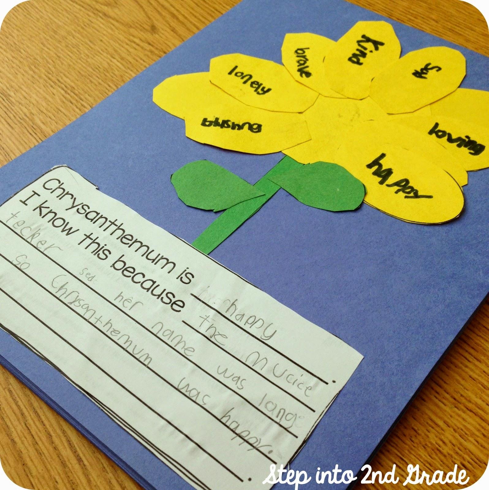 Step Into 2nd Grade With Mrs Lemons Chrysanthemum