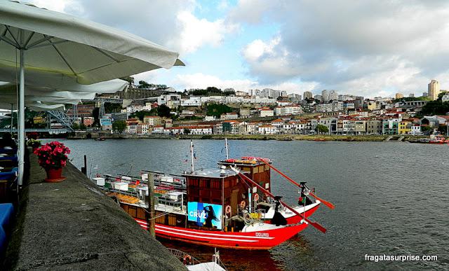 Os rabelos, embarcações típicas do Rio Douro