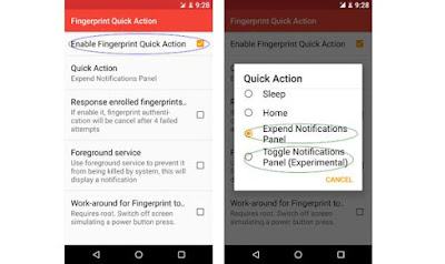 How to Get Google Pixel's Fingerprint Swipe Gesture on Any Android Mobile