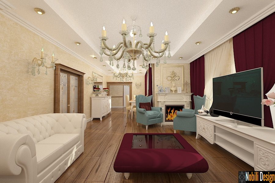 Design Interior - Amenajari Interioare / Design interior case clasice Constanta