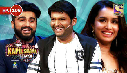 The Kapil Sharma Show Episode 105, Ep. 106 - The Kapil Sharma Show - Arjun & Shraddha In Kapil's Show download in 480p HDTVRip 258mb.