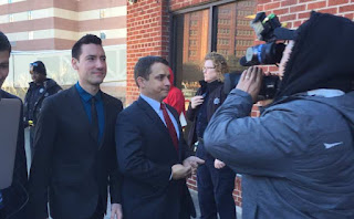 Planned Parenthood investigator David Daleiden walks into the courthouse last year in Houston.