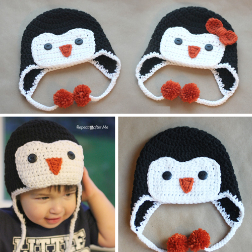 Penguin Hat - Free Pattern