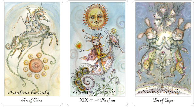 Joie de Vivre Tarot Ten of Cups The Sun Ten of Coins