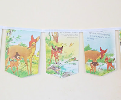 image bambi bunting homewares domum vindemia children decor party nursery