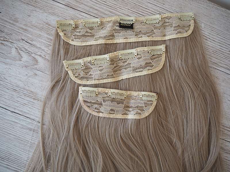 koko couture hair extension review chiara3 weft california blonde