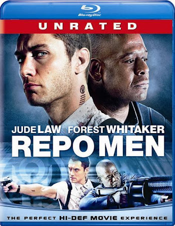 Poster Of Repo Men In Dual Audio Hindi English 300MB Compressed Small Size Pc Movie Free Download Only At worldfree4u.com