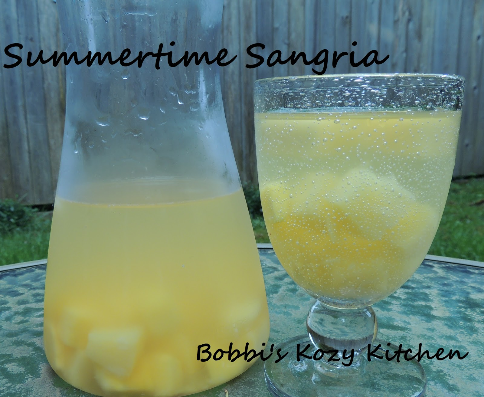 Tipsy Tuesday Summertime Sangria
