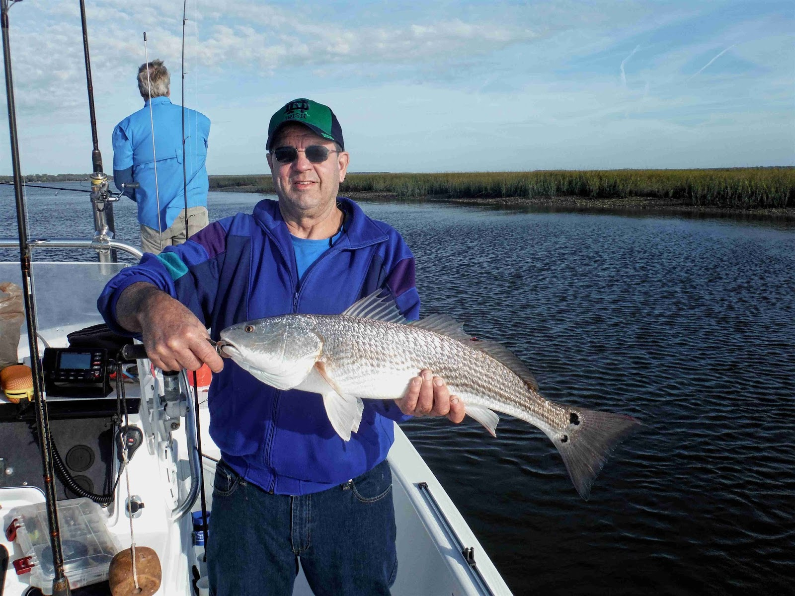 Amelia island fishing reports good battle with oversized for Redfish fishing tips
