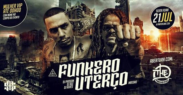 Uterço e Funkero fazem show em SP
