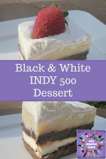 Black and White Dessert Recipe Indy 500 Race Party