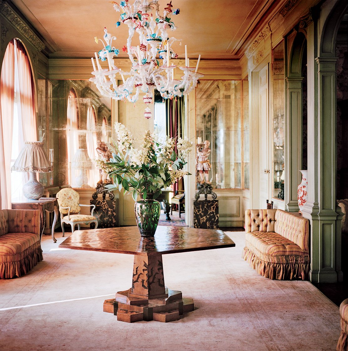 Home Inspiration: Decor Inspiration: Dries Van Noten's Belgian Home And