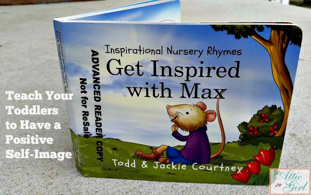 Inspirational Nursery Rhymes, Todd and Jackie Courtney, books for toddlers, positive self-image, traditional values