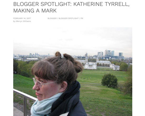 Blogger Spotlight Katherine Tyrrell Making A Mark