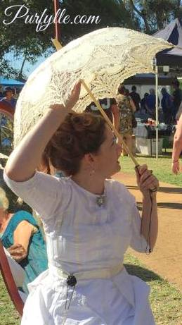 Parasols are great for sun protection