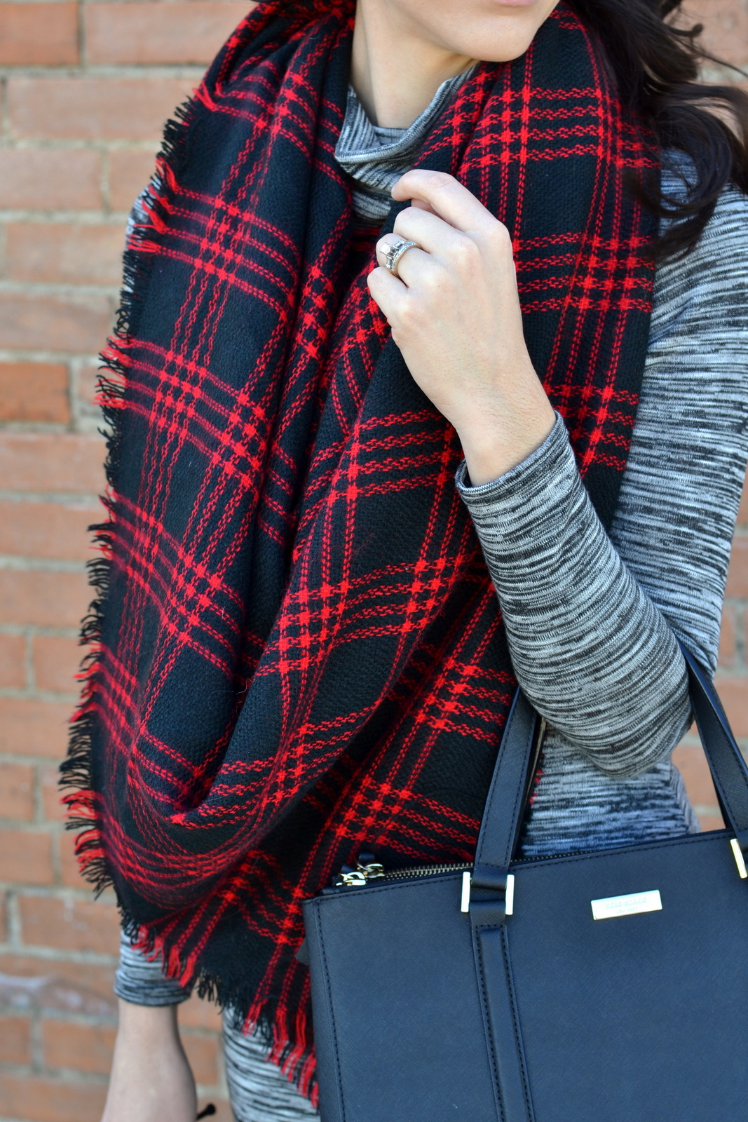 Buffalo Plaid, Blanket Scarf