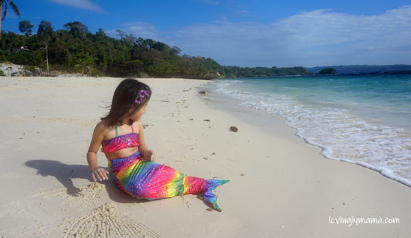 mermaids in boracay Newcoast - mermaid costumes for kids - mermaid swimming lessons -sisters summer photo shoot - Bacolod mommy blogger - family travel - Savoy Hotel Boracay - Boracay Newcoast - Boracay hotels - Boracay White Beach