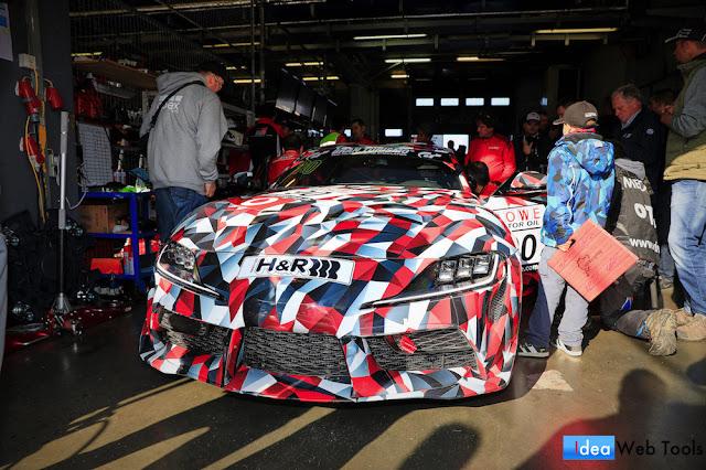 新型スープラのレース仕様モデル「GAZOO Racing A90」