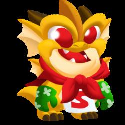 Dragon Blague apparence de l'enfant