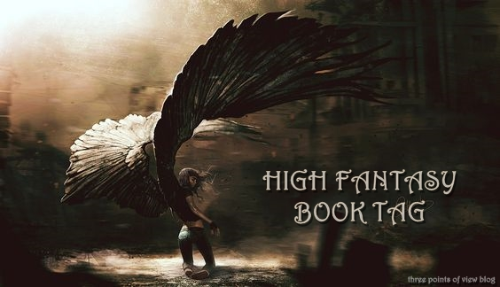 High Fantasy Book Tag