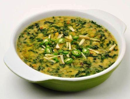 Moong Dal Palak Recipe