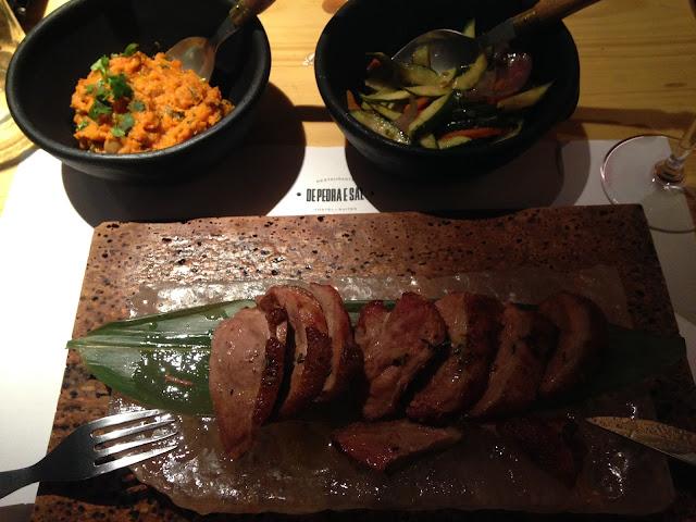 restaurante de Pedra e Sal