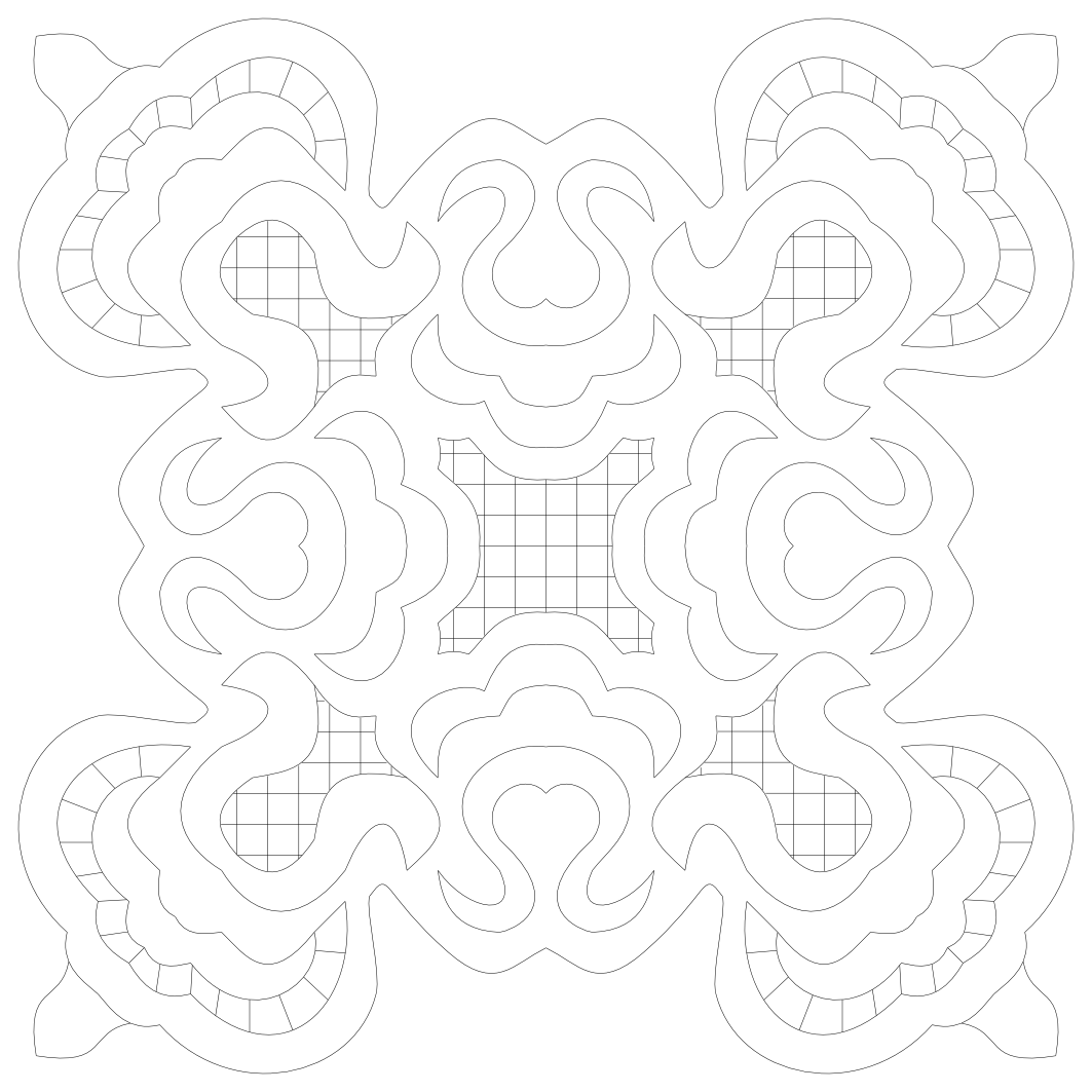 Imaginesque: Pattern for Free-hand Embroidery and Quilting