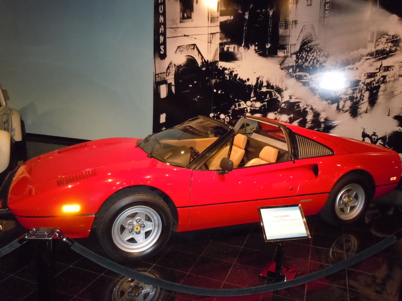 Hollywood Movie Costumes and Props: 1982 Ferrari used in TV's Magnum