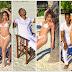 Pics! Khanyi Mbau and Tebogo Lerole Dreamy Baecation!