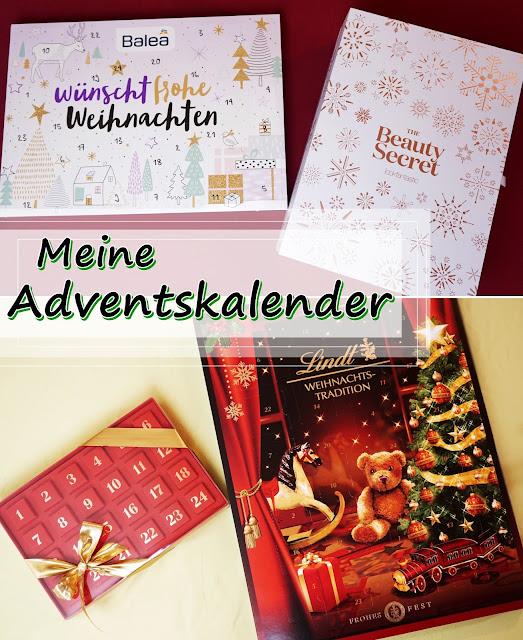 Meine Adventskalender 2016 Balea, LookFantastic, Lindt, Pralinen, Christmas, Weihnachten