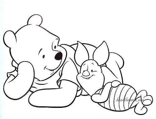 tranh tô màu động vật cho bé tập tô màu 11