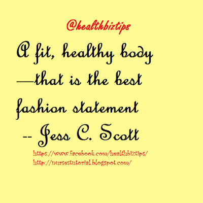 daily health tips quotes