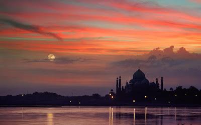 Mehtab Bagh Taj Mahal Agra India Seven Wonders Travel Blog Tourism