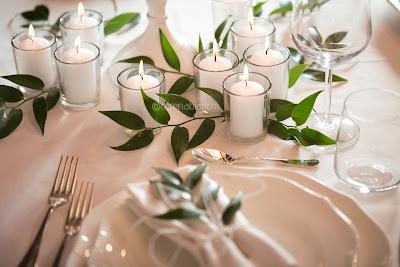 portacandele tealights matrimonio