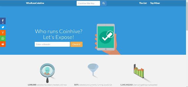 طريقة معرفة المواقع التي تستخدم CoinHive للتنقيب عن البتكوين متصفحك وتستهلك معالج حاسوبك بدون علمك !