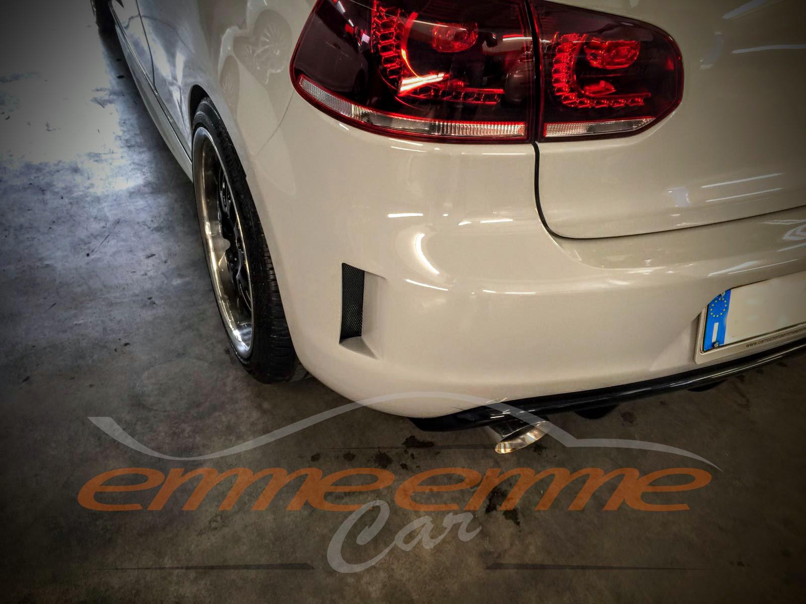 Volkswagen Golf 6- Grigio Campovolo Emmeemme Car - dettaglio