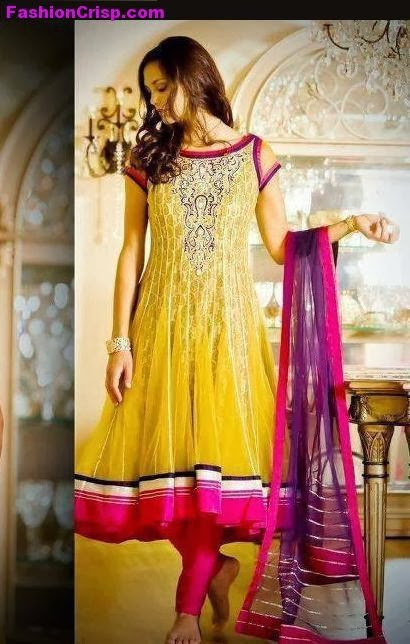 New Bridal Mehndi Dress Designs 2014 15 Just Bridal