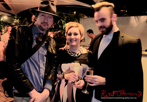 Guests at the Cruise Bar re-launch Sydney. Photography by Kent Johnson - Street Fashion Sydney.