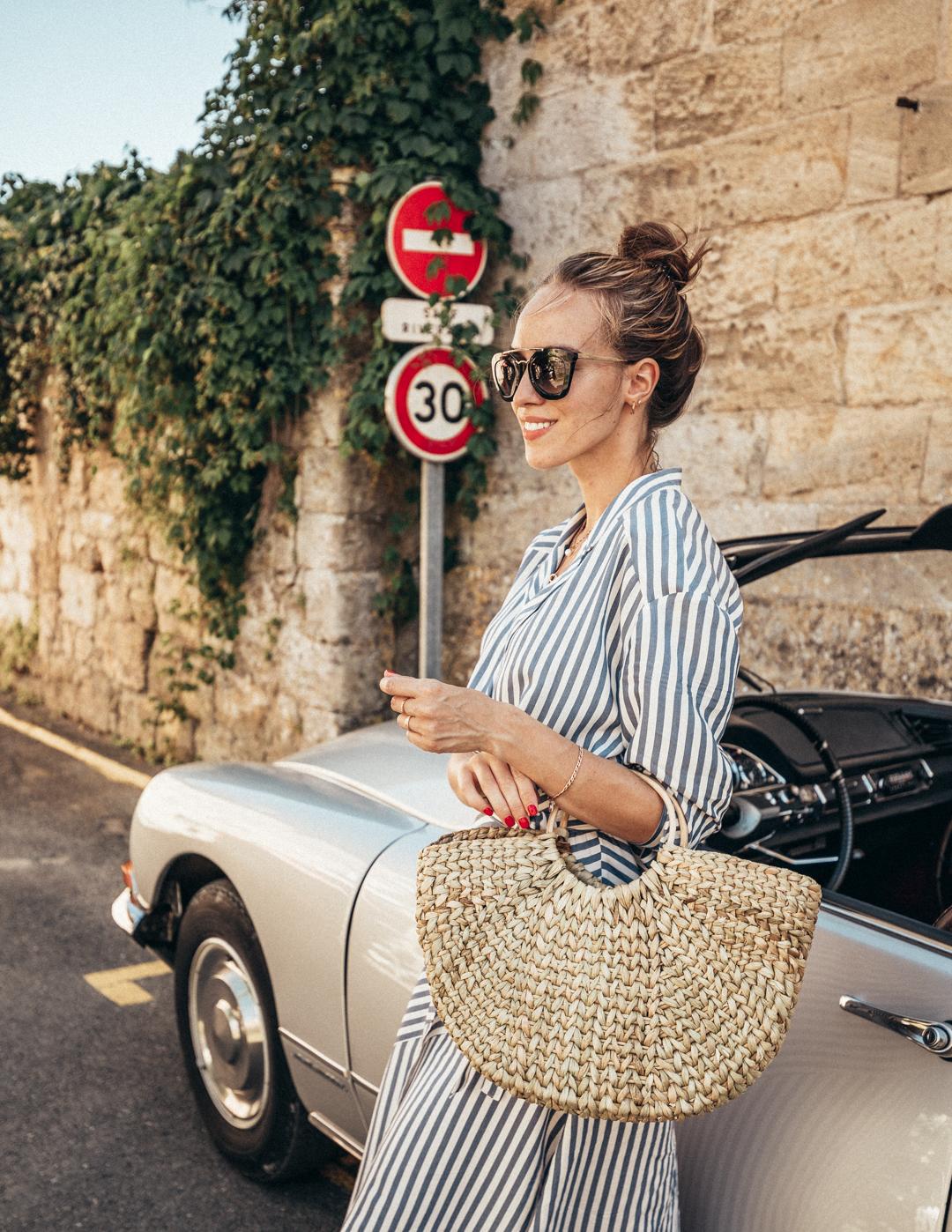 st emilion france old car summer