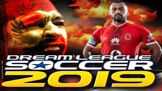 حصريا واخيرا  dream league 2019- النادي الاهلي بأخر الانتقالات والشعار الصحيح  (وبأغاني الاهلي الشهيرة)